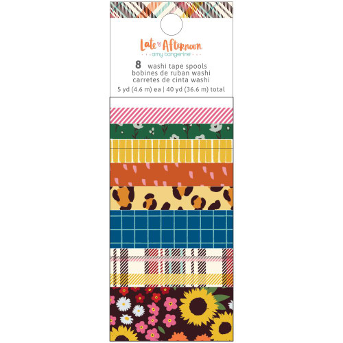Amy Tangerine Late Afternoon Washi Tape Spools