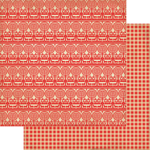 CLEARANCE   Authentique Cultivate 12x12 Paper: Two