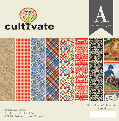 Authentique Cultivate 6x6 Bundle