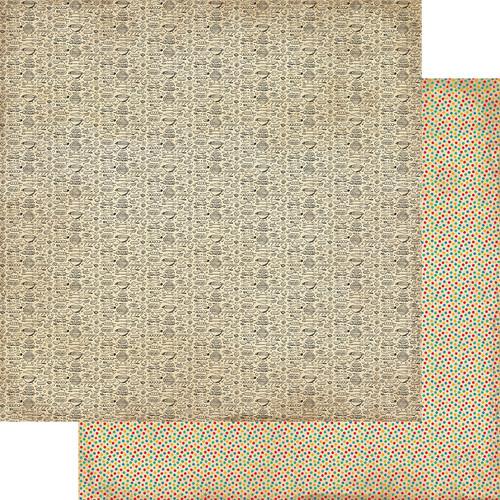 Authentique Delicious 12x12 Paper: Four