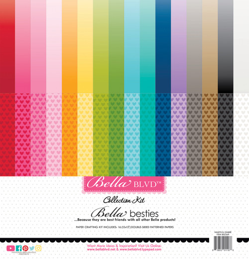 *SG SUPER BUY* Bella Besties Hearts & Ombré Rainbow Collection Kit