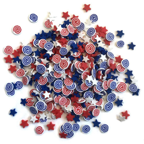 Buttons Galore & More Sprinkletz: Star Spangled