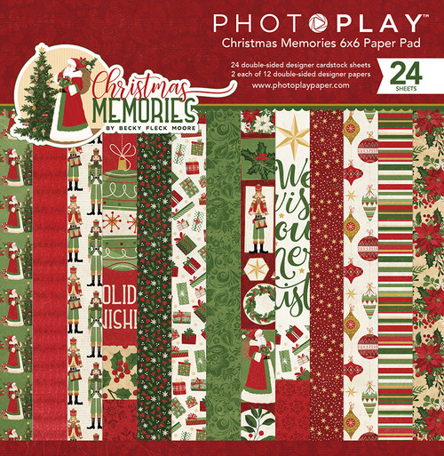 *SG SUPER BUY* PhotoPlay Christmas Memories 6x6 Paper Pad