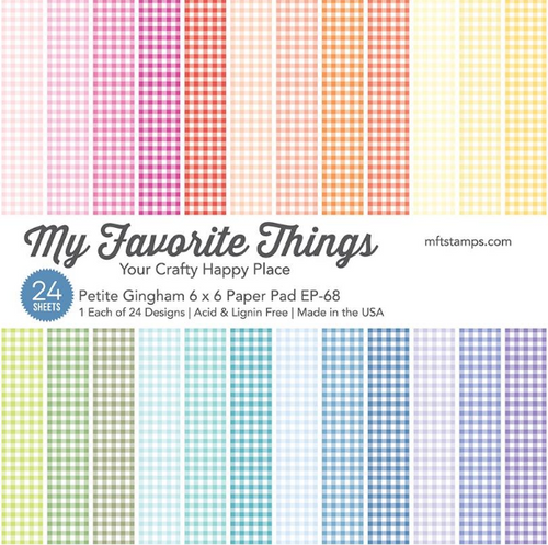 My Favorite Things 6x6 Paper Pad: Petite Gingham