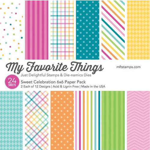 My Favorite Things 6x6 Paper Pad: Sweet Celebration