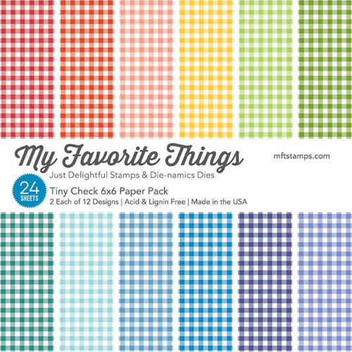 My Favorite Things 6x6 Paper Pad: Tiny Check