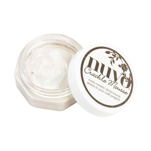 Nuvo Crackle Mousse: Russian White