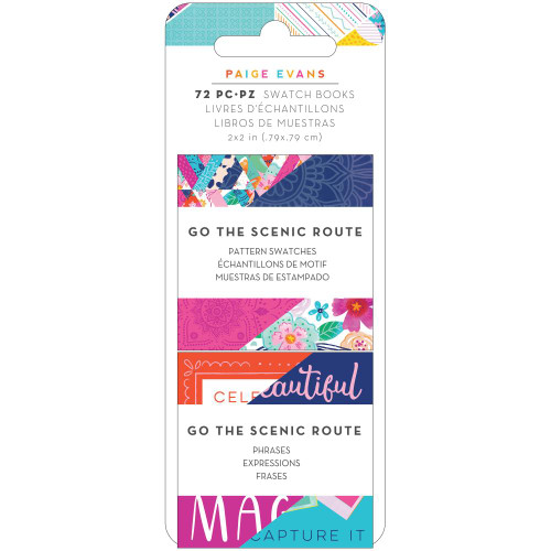 Paige Evans Go The Scenic Route 2x2 Swatch Books