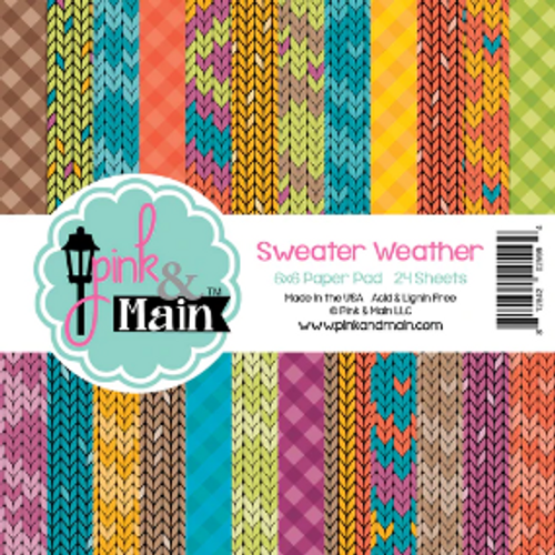 Pink & Main 6x6 Paper Pad: Sweater Weather