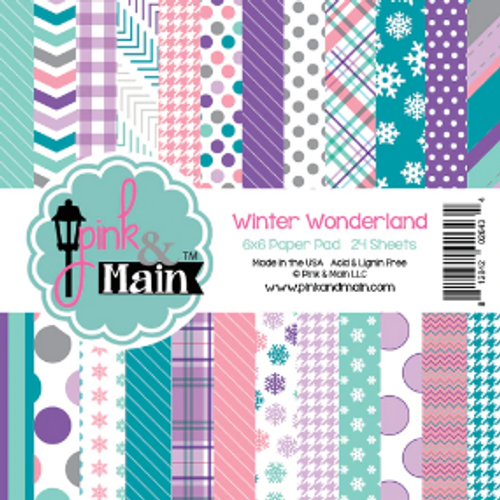 Pink & Main 6x6 Paper Pad: Winter Wonderland