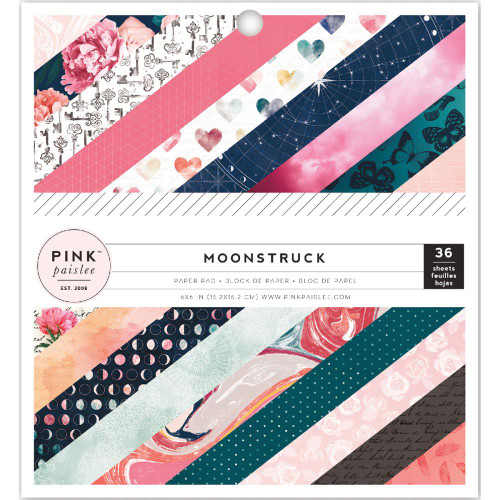 Pink Paislee Moonstruck 6x6 Paper Pad (Single-Sided)