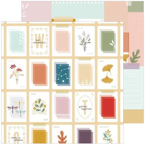 Pinkfresh Studio Days of Splendor 12x12 Paper: Totally Splendid