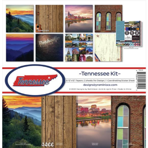 Reminisce 12x12 Collection Kit: Tennessee