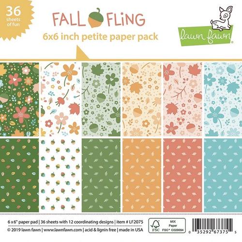 Lawn Fawn 6x6 Paper Pad: Fall Fling