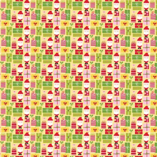 Bella Blvd Fa La La 12x12 Paper: All I Want For Christmas