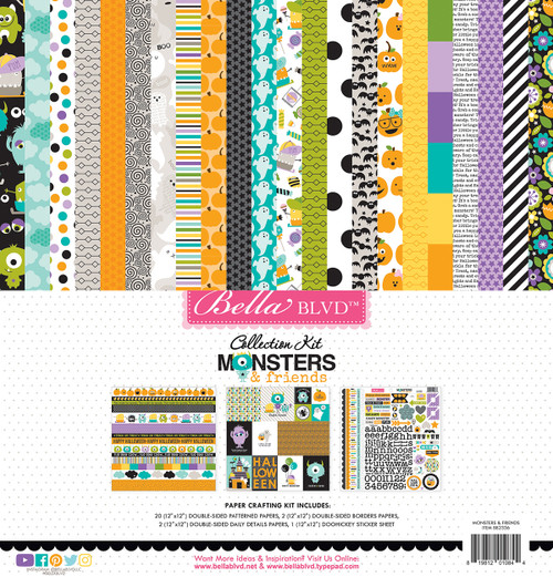 Bella Blvd Monsters & Friends Collection Kit