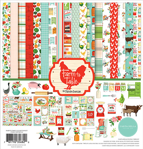 Carta Bella Farm to Table Collection Kit