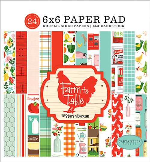Carta Bella Farm to Table 6x6 Paper Pad