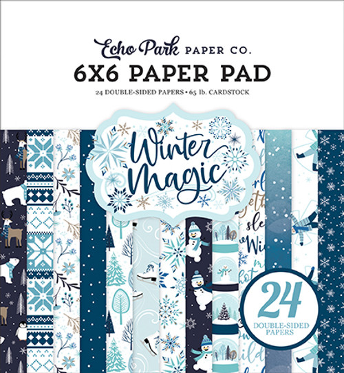 Echo Park Winter Magic 6x6 Paper Pad