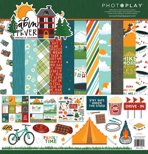 PhotoPlay Cabin Fever Collection Pack