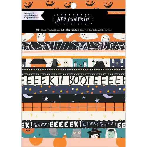 Crate Paper 6x8 Paper Pad: Hey Pumpkin