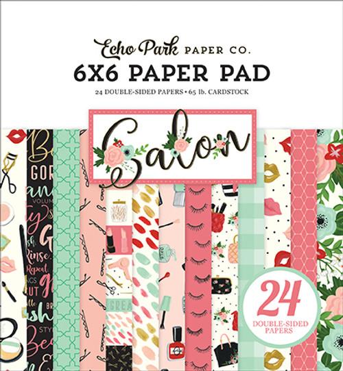 Echo Park Salon 6x6 Paper Pad
