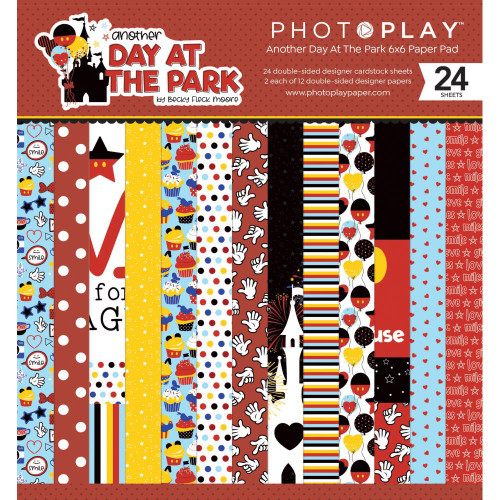 Photo Play Another Day at the Park 6x6 Paper Pad