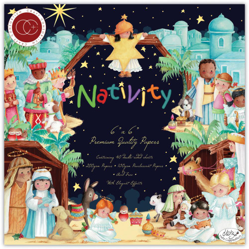 Craft Consortium 6x6 Paper Pad Premium Collection: Nativity