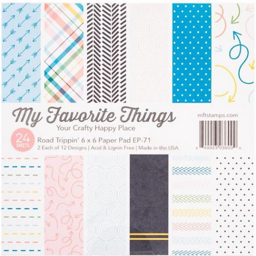My Favorite Things 6x6 Paper Pad: Road Trippin'