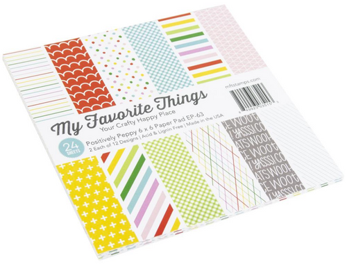 My Favorite Things 6x6 Paper Pad: Positively Preppy