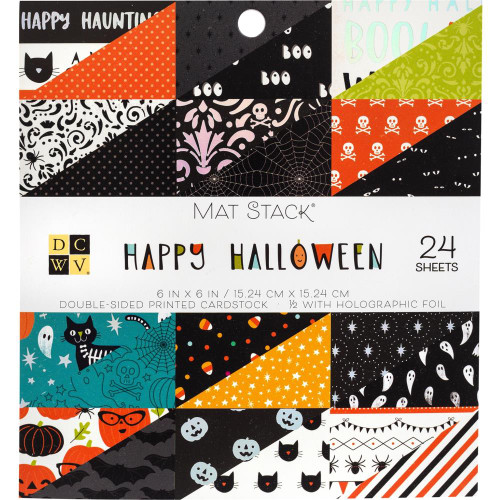 Die Cuts With A View 6x6 Paper Pad: Happy Halloween