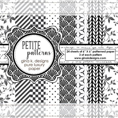 Gina K. Designs 6x6 Paper Pad: Petite Patterns