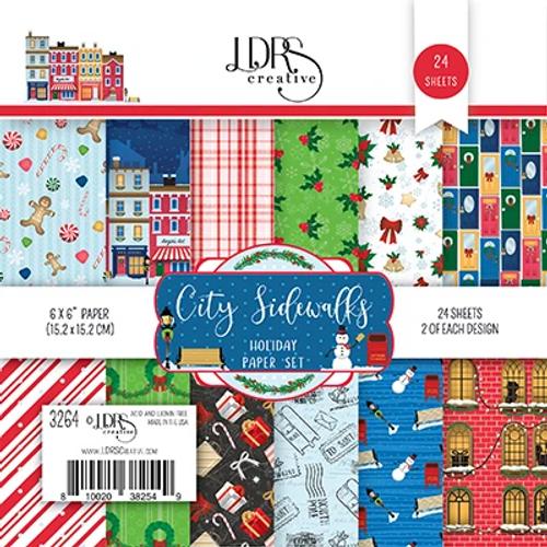 LDRS Creative 6x6 Paper Pad: City Sidewalks