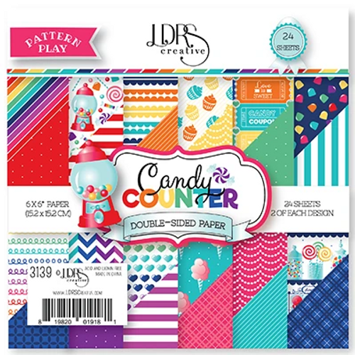 LDRS Creative 6x6 Paper Pad: Candy Counter