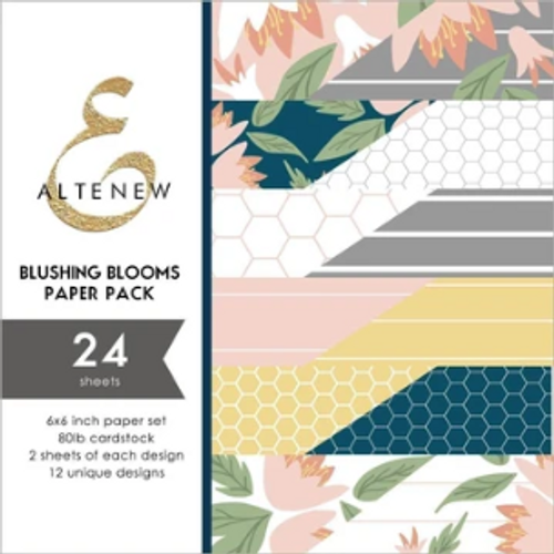 Altenew 6x6 Paper Pad: Blushing Blooms