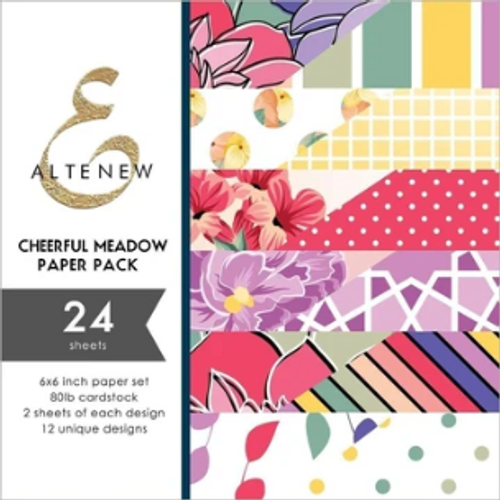 Altenew 6x6 Paper Pad: Cheerful Meadow