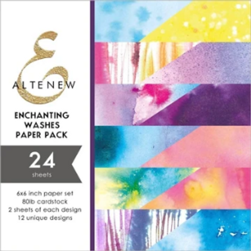 Altenew 6x6 Paper Pad: Enchanting Washes
