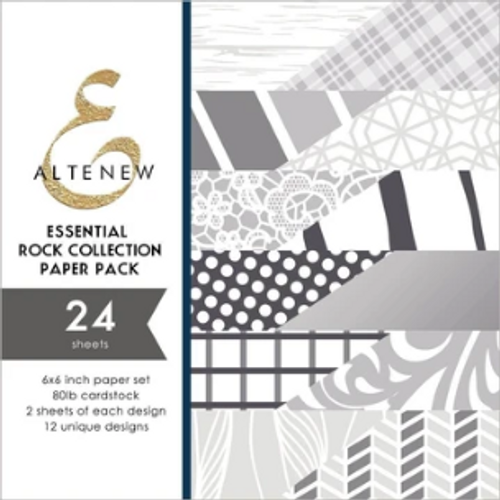 Altenew 6x6 Paper Pad: Essential Rock Collection