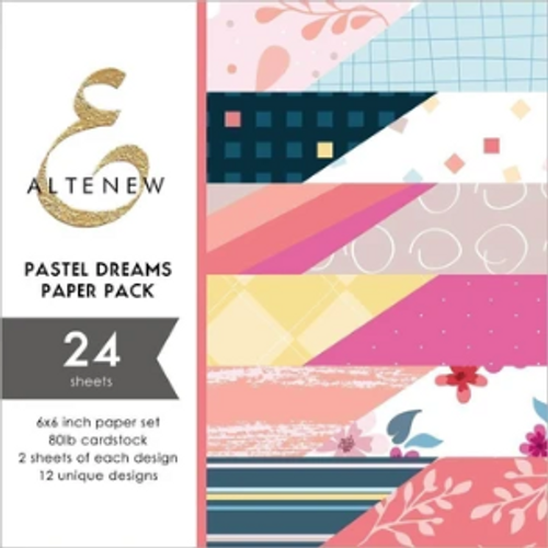 Altenew 6x6 Paper Pad: Pastel Dreams
