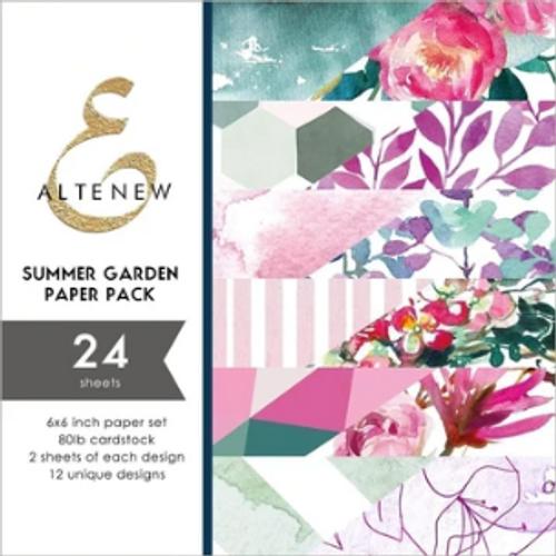 Altenew 6x6 Paper Pad: Summer Garden