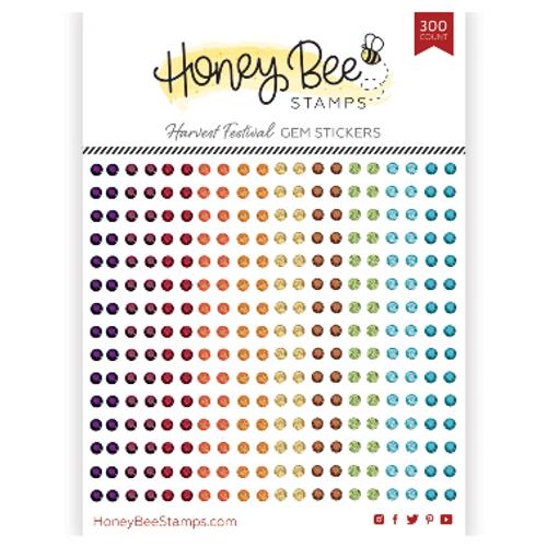 Honey Bee Stamps Crystal Gem Stickers: Harvest Festival