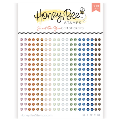 Honey Bee Stamps Crystal Gem Stickers: Sweet on You