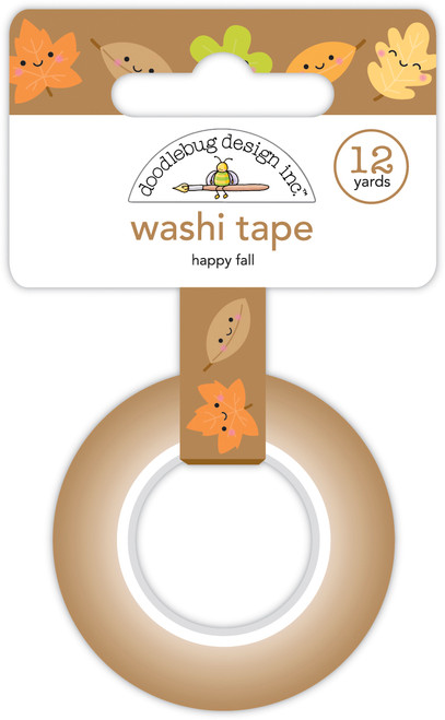 Doodlebug Pumpkin Spice Washi Tape: Happy Fall