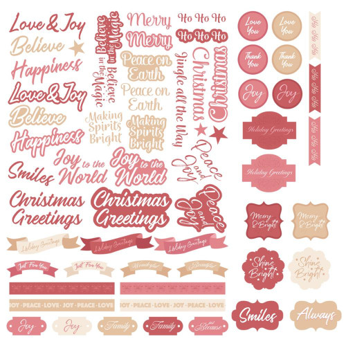 Couture Creations The Gift of Giving Diecut Sentiment Set