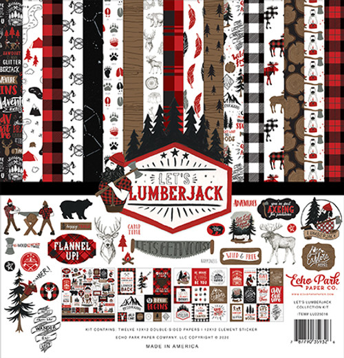 Echo Park Let's Lumberjack Collection Kit