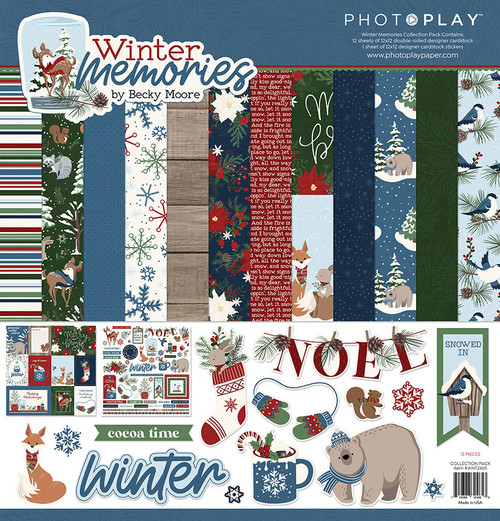 PhotoPlay Winter Memories Collection Pack