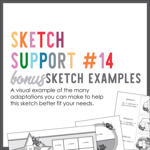 * DIGITAL DOWNLOAD * Allison Davis for SG | Sketch Support Bonus Sketch Examples #14