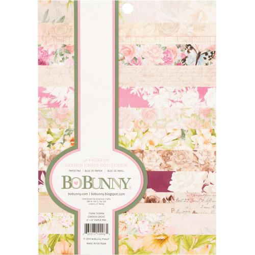 BoBunny Garden Grove 6x8 Paper Pad