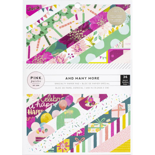 Pink Paislee And Many More 6x8 Paper Pad (Single-Sided)