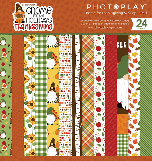 PhotoPlay Ghome for Thanksgiving 6x6 Paper Pad